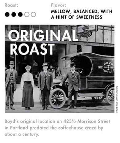 Boyd's Original Roast Coffee
