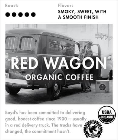 Boyd's Red Wagon Coffee